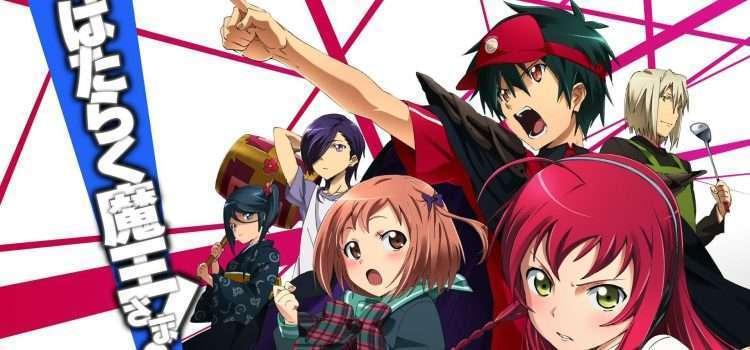 Hataraku Maou Sama Sequel Announced!!