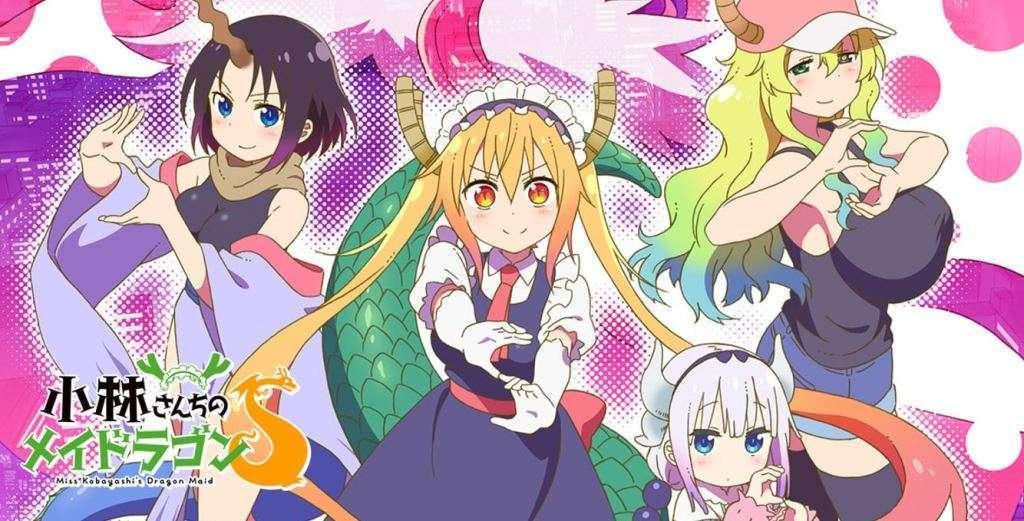 Miss Kobayashi's Dragon Maid Season 2 - Sequel in Summer 2021