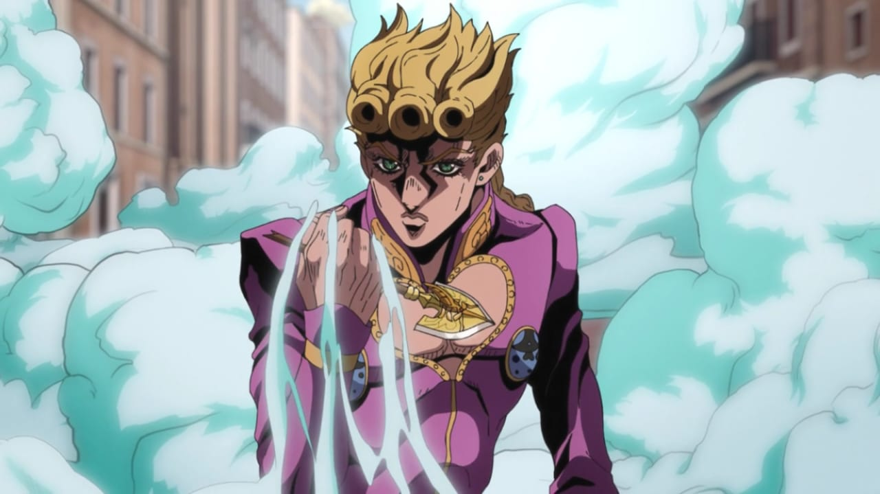 Giorno's theme from Part 5